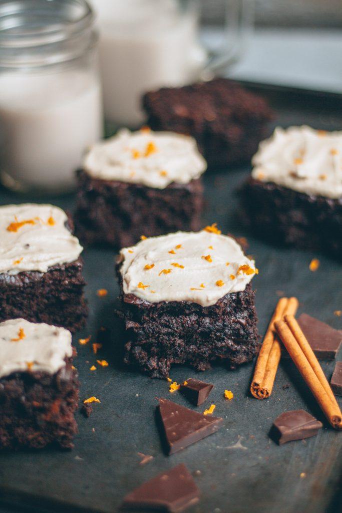 healthier chocolate carrot cake