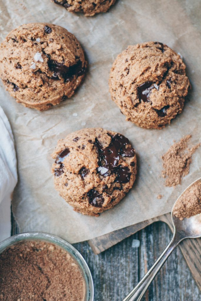 chai spice chocolate chip cookies