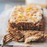 lemon coconut chia loaf
