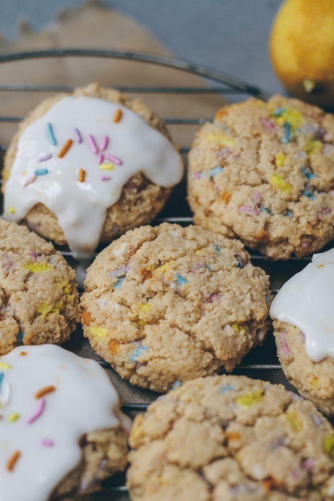 lemon funfetti cookies