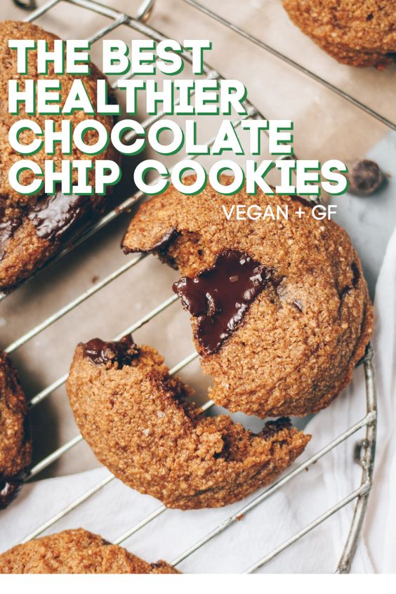 the best healthier chocolate chip cookies