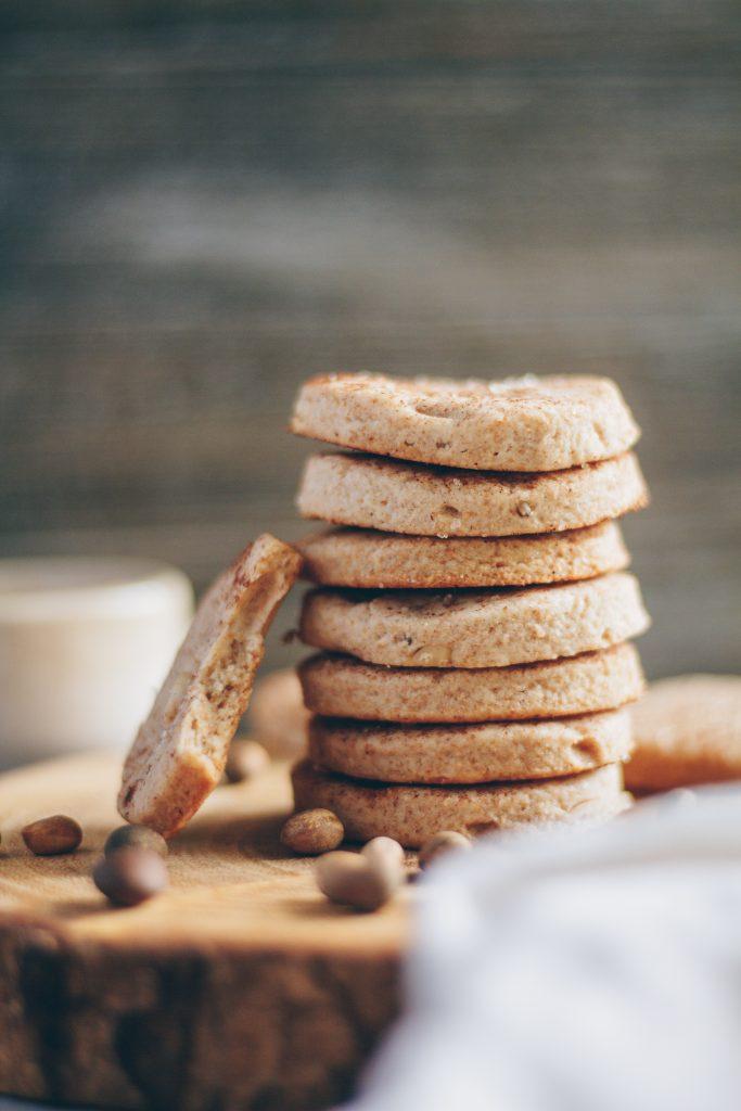 Vegan Piñon Cookies (Feast Day Cookies)