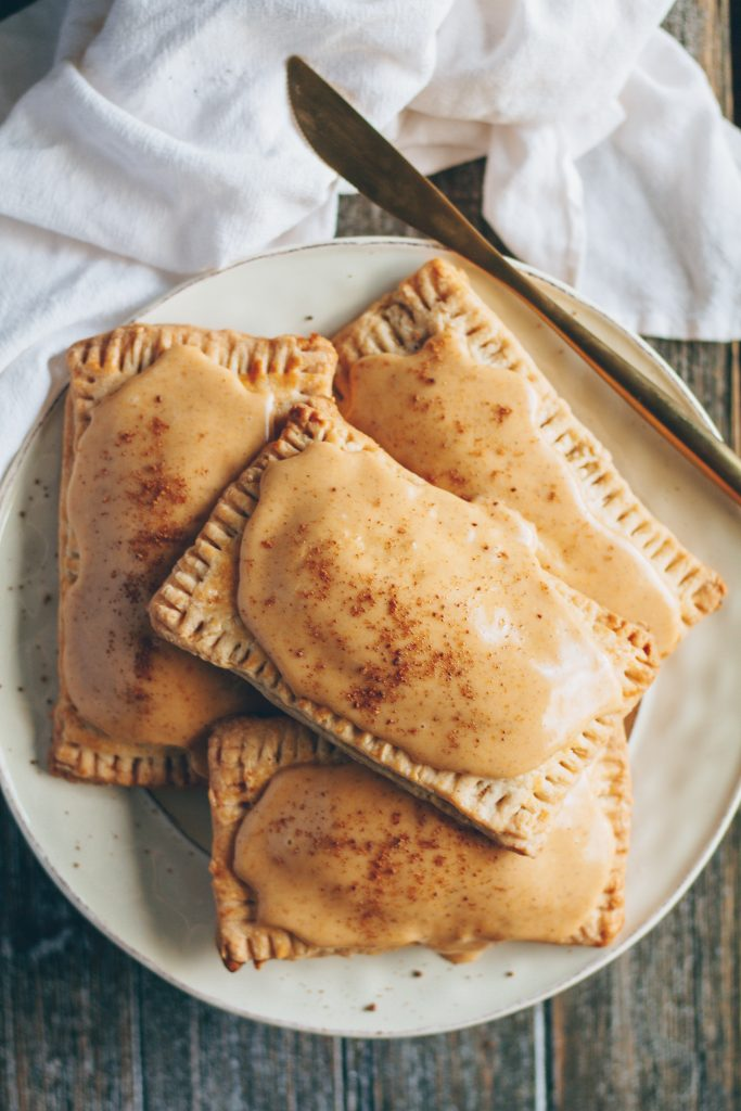 pumpkin spice pop tarts