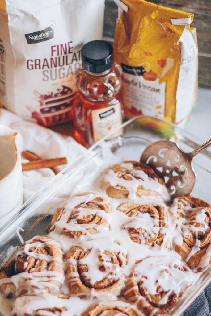 vegan coffee cinnamon rolls