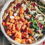 herbed sweet potato nourish bowl