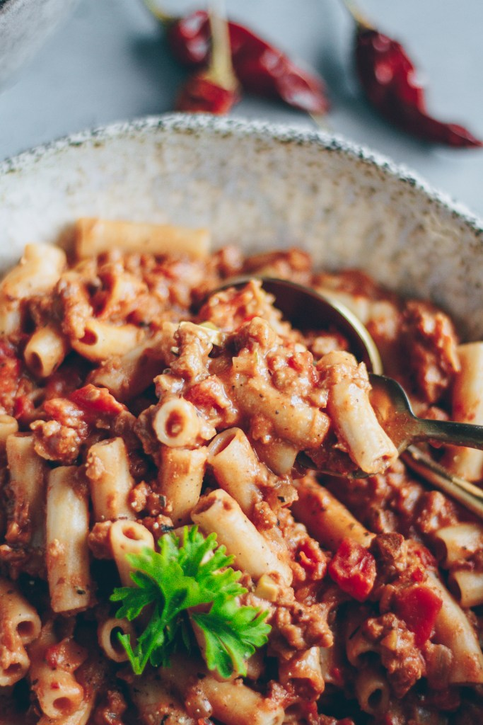 calabrian chili bolognese