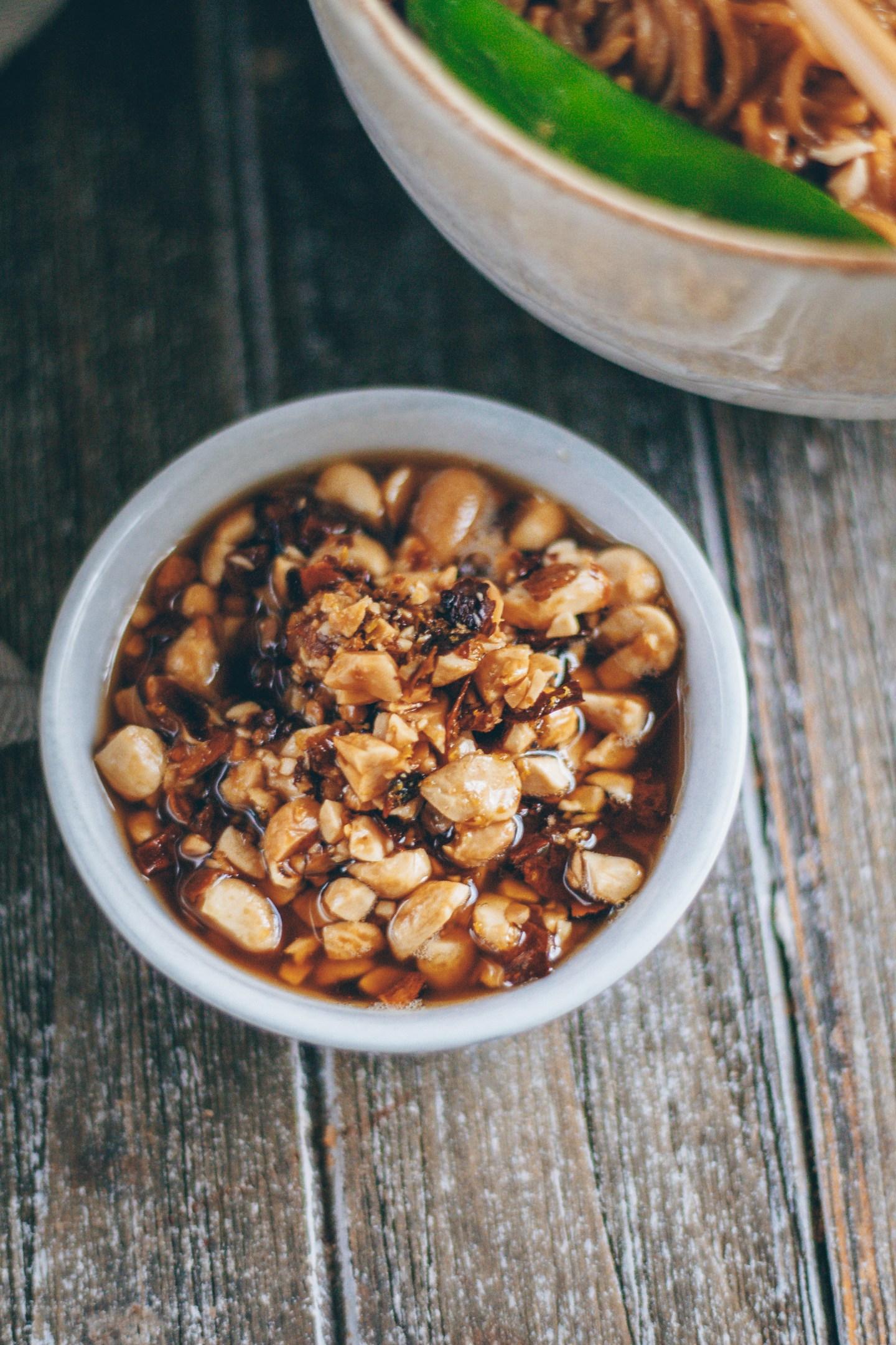 sesame peanut oil