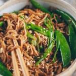 spicy sesame peanut noodles